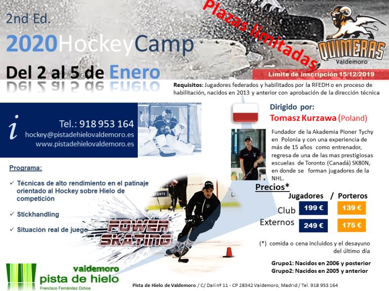 II Ice Hockey Camp – Pista de Hielo Valdemoro