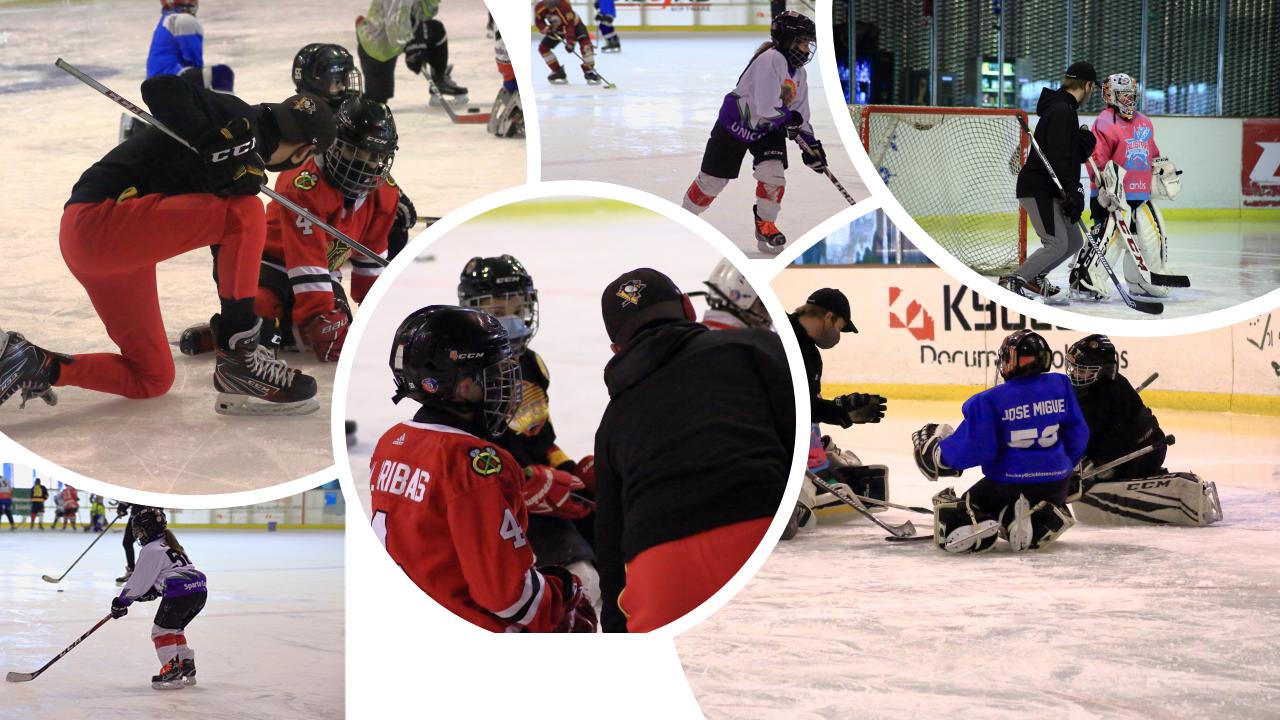 Valdemoro celebra su tercera edición del Campus de Hockey Hielo